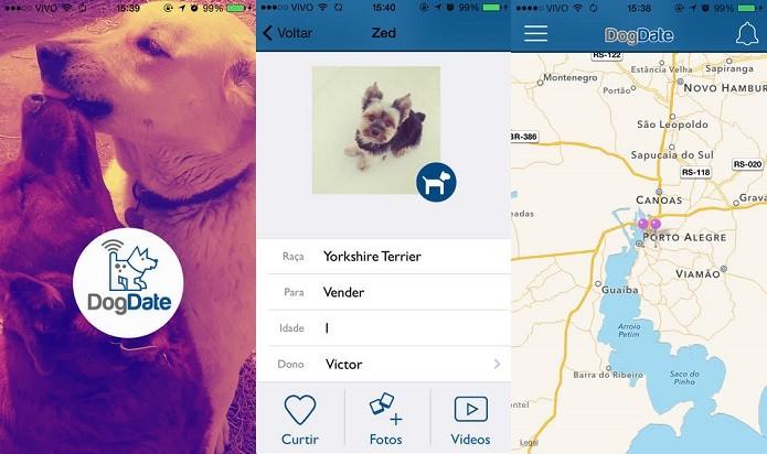 Crie um perfil para o seu cão e interaja com outros donos (Foto: Divulgação/AppStore)