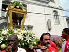 Procissão do padroeiro do AP leva imagem do santo a pontos turísticos