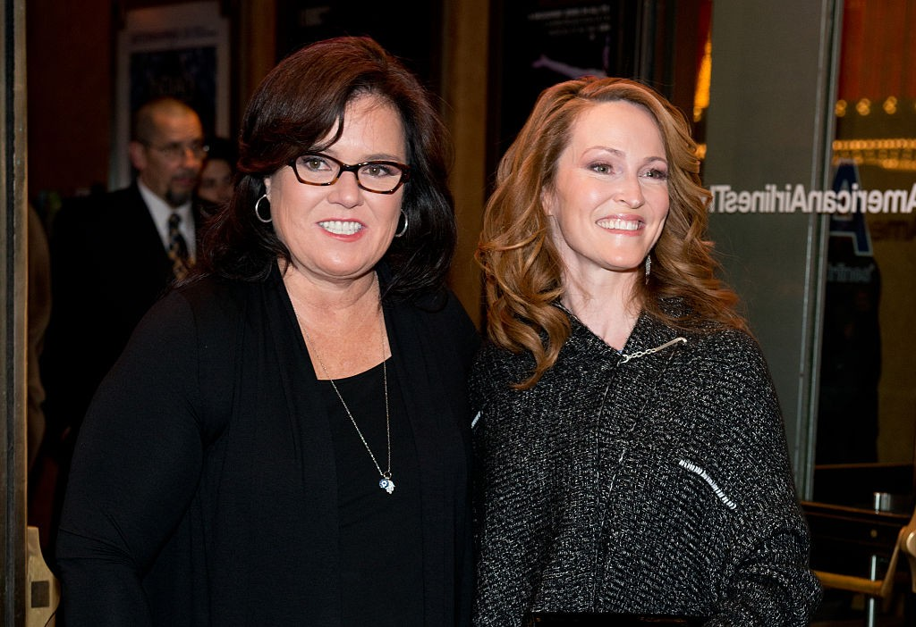 Rosie O'Donnell e Michelle Rounds (Foto: Getty Images)
