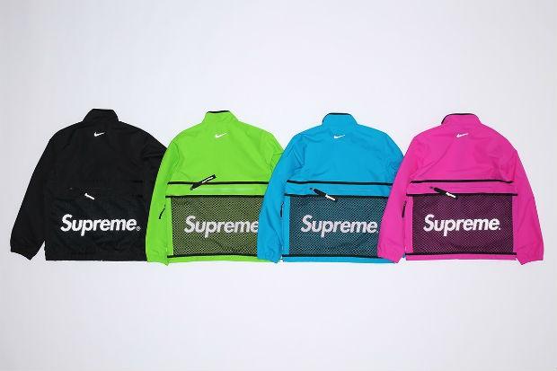 As jaquetas da nova coleção Nixe x Supreme (Foto: Divulgação)