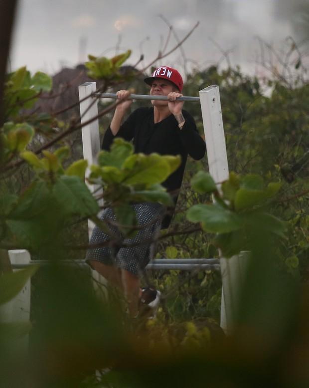 Justin Bieber no Rio (Foto: Marcello Sá Barretto e André Freitas/Agnews)