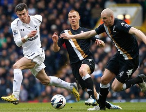 Gareth Bale jogo Tottenham Fullham (Foto: Reuters)