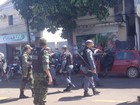 Vídeo mostra ação policial em manifestação de vigilantes no Amapá