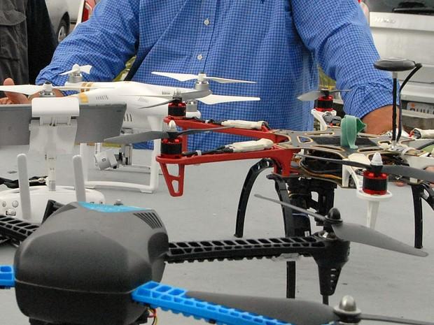 Drones serão as novas armas contra focos do mosquito em Manaus  (Foto: Divulgação/Semsa)