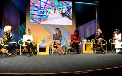 Teia GNT promove reflexão sobre coragem em evento em São Paulo