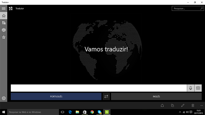 Translator 10 possui suporte para computadores e Windows Phone com Windows 10  (Foto: Reprodução/Elson de Souza)