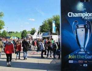 Entrada do Festival Champions League (Foto: Carlos Mota / Globoesporte.com)