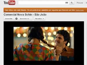Propaganda Nova Schin (Foto: Reprodução/YouTube)