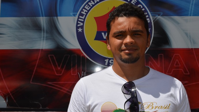 Diego Siqueira é a nova contratação do Vilhena (Foto: Dennis Gonçalves)