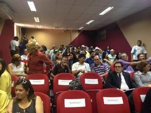 servidores, município, macapá, transferência, união, transposição, amapá (Foto: Jéssica Alves/G1)