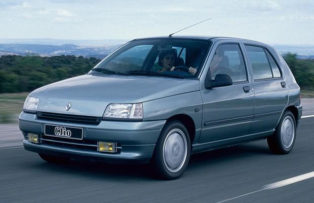 Renault Clio 1990 (Foto: Divulgação)