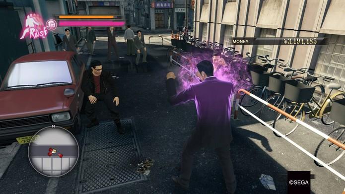 Como jogar Yakuza 0 (Foto: Reprodução/Felipe Vinha)