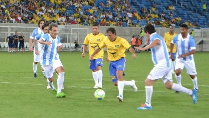 Petkovic - Brasil x Argentina (Foto: Jocaff Souza/GloboEsporte.com)
