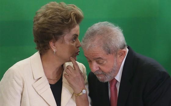 Dilma Rousseff e Luis Inácio Lula da Silva (Foto: Agência O Globo )