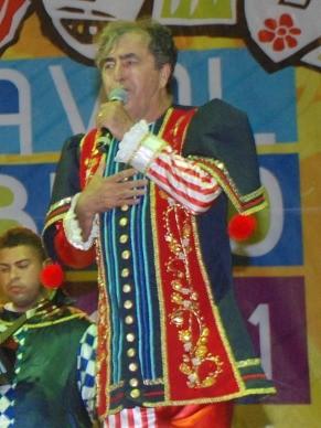 Getúlio Cavalcanti em uma de suas apresentações (Foto: Acervo pessoal)