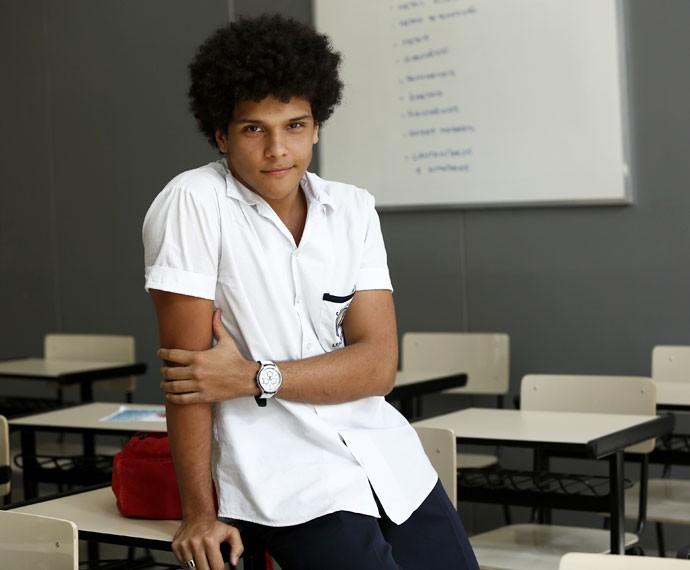 Paulo Hebrom faz 20 anos neste sábado, 24/10 (Foto: Raphael Dias/Gshow)