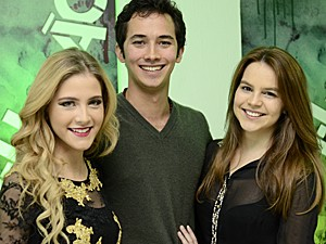 Hanna Romanazzi, Gabriel Falcão e Bianca Salgueiro (Foto: Estevam Avellar / TV Globo)