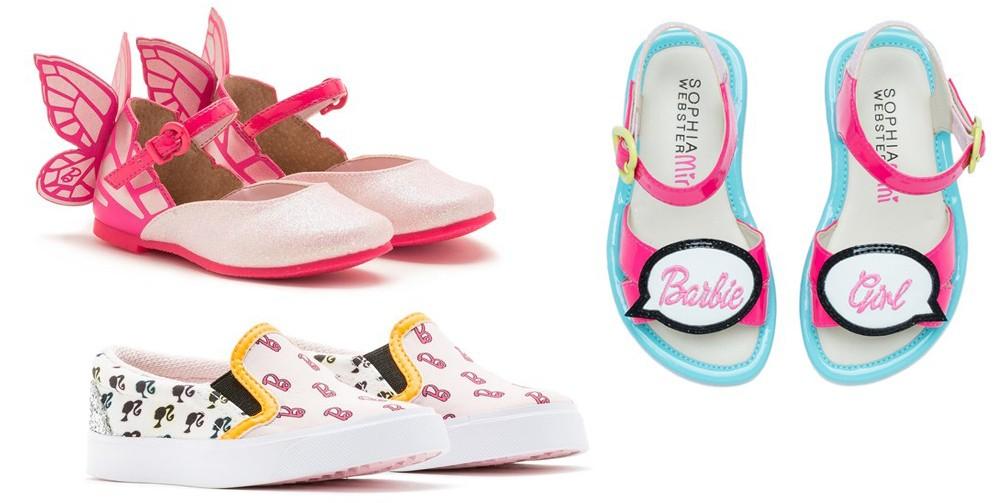 Resultado de imagem para coleção de sapatos sophia webster barbie