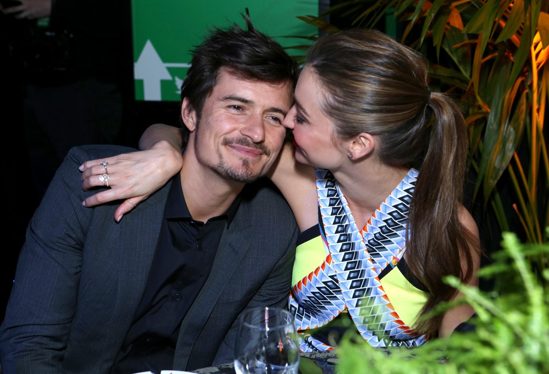 O ator e a modelo casaram-se em 22 de Julho de 2010 numa festa intimista em Los Angeles.  (Foto: Getty Images)