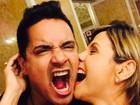 Carla Perez e Xanddy comemoram 13 anos de casamento em Veneza