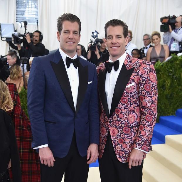 Os gêmeos Cameron e Tyler Winklevoss  (Foto: getty images)