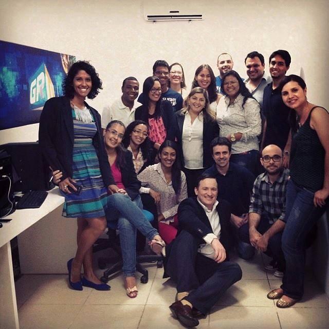 Carol Souza faz parte da equipe que implantou o G1 Petrolina e Região, em 2013 (Foto: Arquivo Pessoal)