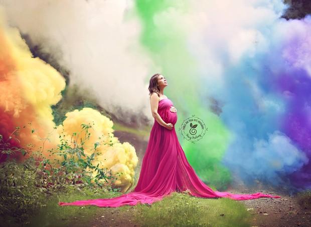 arcoiris (Foto: reprodução facebook)