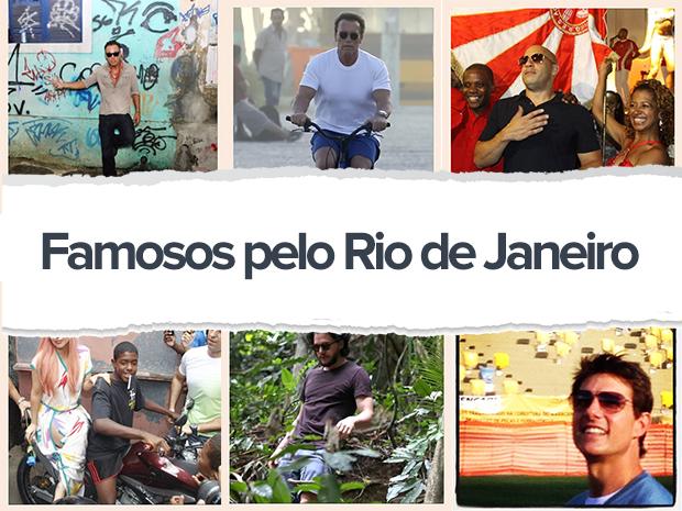 Famosos pelo Rio (Foto: EGO)