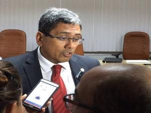 Jeferson Passos, secretário de Estado da Fazenda  (Foto: Tássio Andrade/G1)