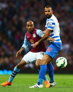 Sandro - Aston Villa x Queens Park Rangers (Foto: Getty Images)