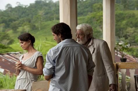 Walmor Chagas com Vladimir Brichta e Clarisse Abujamra (Foto: Divulgação)