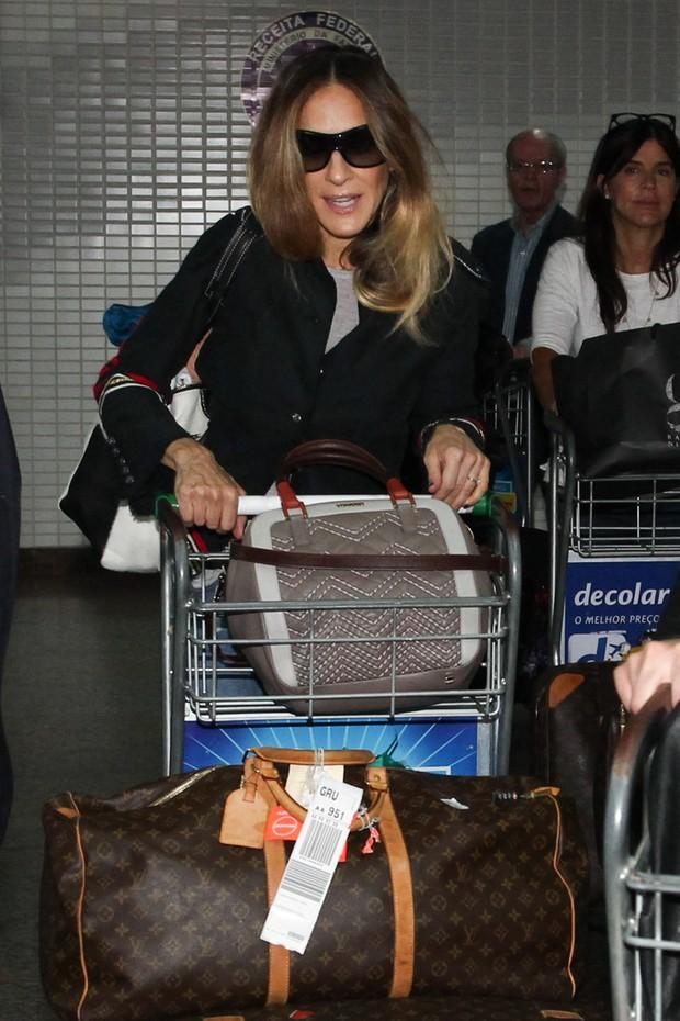 Sarah Jessica Parker em SP (Foto: Manuela Scarpa /Foto Rio News)