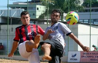 Brasil-Pel vence o Rio Branco-ES na Pré-Copa Brasil de futebol de areia