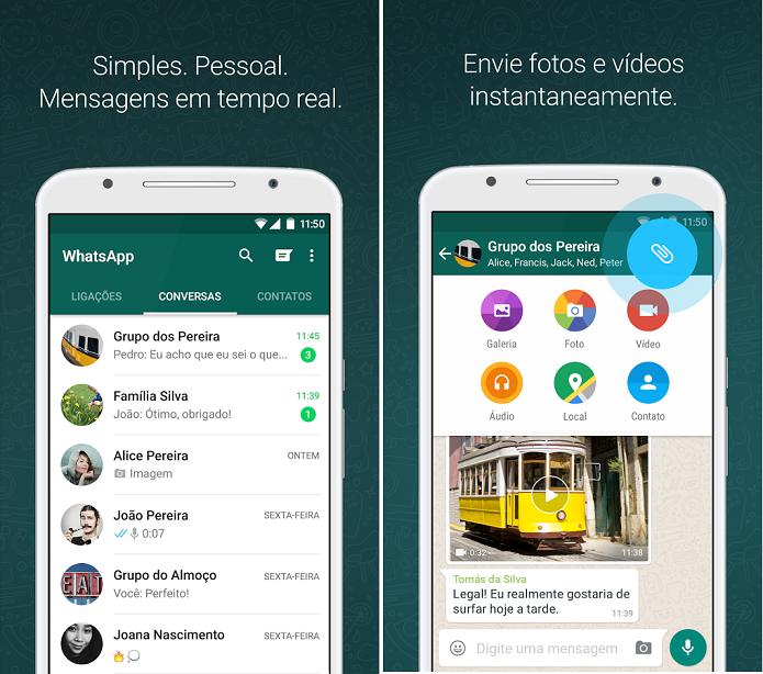 WhatsApp para Android ganhou várias novidades (Foto: Divulgação)
