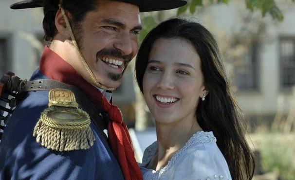 Thiago Lacerda e Marjorie Estiano estão no elenco de 'O Tempo e o Vento' (Foto: Divulgação / Reprodução)