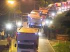 Após nove dias de greve, caminhões começam a circular em todo o país