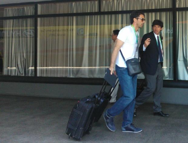 buffon itália, fortaleza, hotel (Foto: Juscelino Filho)