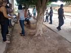 Profª é ameaçada  com faca por aluno (Augusto Jacobina / Site Augusto Urgente)