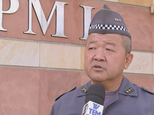 Coronel da PM informou que as partes serão ouvidas (Foto: Reprodução/TV TEM)