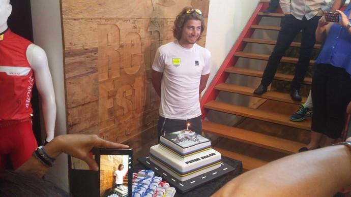 Peter Sagan aniversário ciclismo (Foto: Felipe Siqueira)