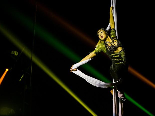 Últimos dias do Mirage Circus em Maceió (Foto: Jonathan Lins/G1)