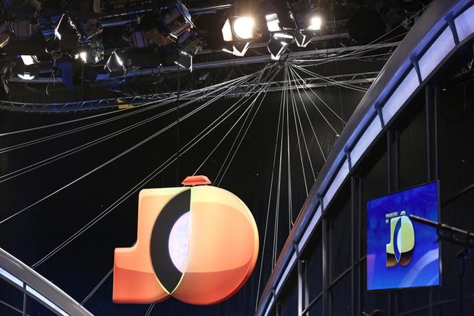 Cenário do 'Programa do Jô' (Foto: Carol Caminha/Gshow)