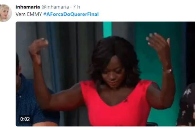 Os telespectadores já pedem o prêmio Emmy para 'A força do querer' (Foto: Reprodução)