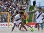 Futebol de areia: Sampaio Corra e Vasco faro srie de amistosos