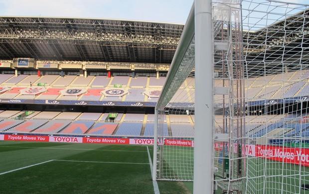 Traves do estádio de Yokohama (Foto: Cahê Mota / Globoesporte.com)