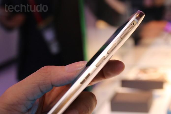 HTC One M9 (Foto: Isadora Díaz/ TechTudo)