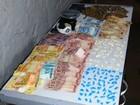 PM apreende R$ 3.434, drogas, joias e celulares em Montes Claros