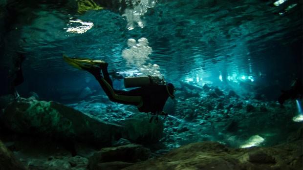 Mergulho na Riviera Maya (Foto: Divulgao)