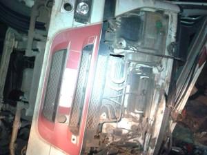 Acidente aconteceu no quilômetro 460 da BR-352 entre Pará de Minas e Pitangui (Foto: Gave/Divulgação)