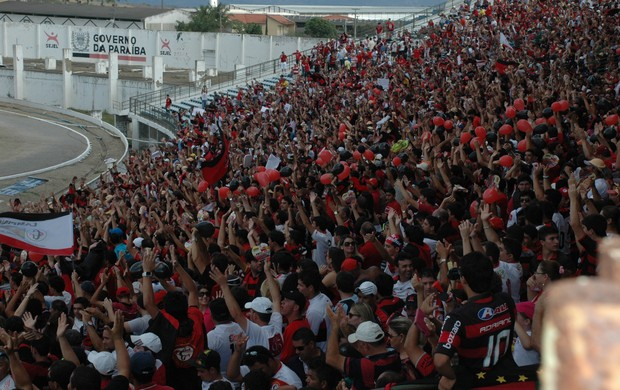 torcida, campinense, estádio amigão (Foto: Phelipe Caldas / Globoesporte.com/pb)